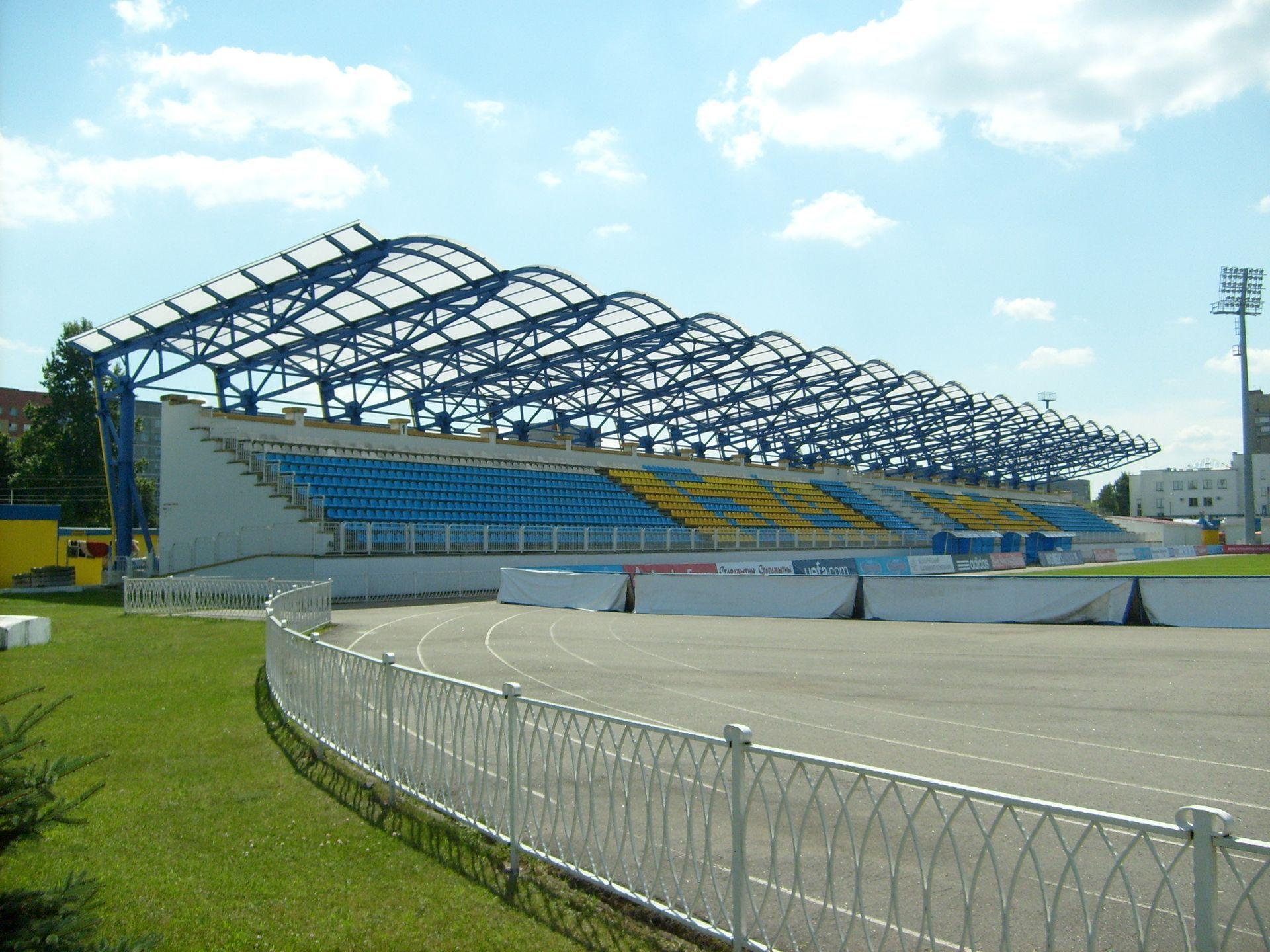 Старият Градски стадион в Борисов, на който и Левски не успя през 2008 г. (1:1 и 1:2 общ резултат)