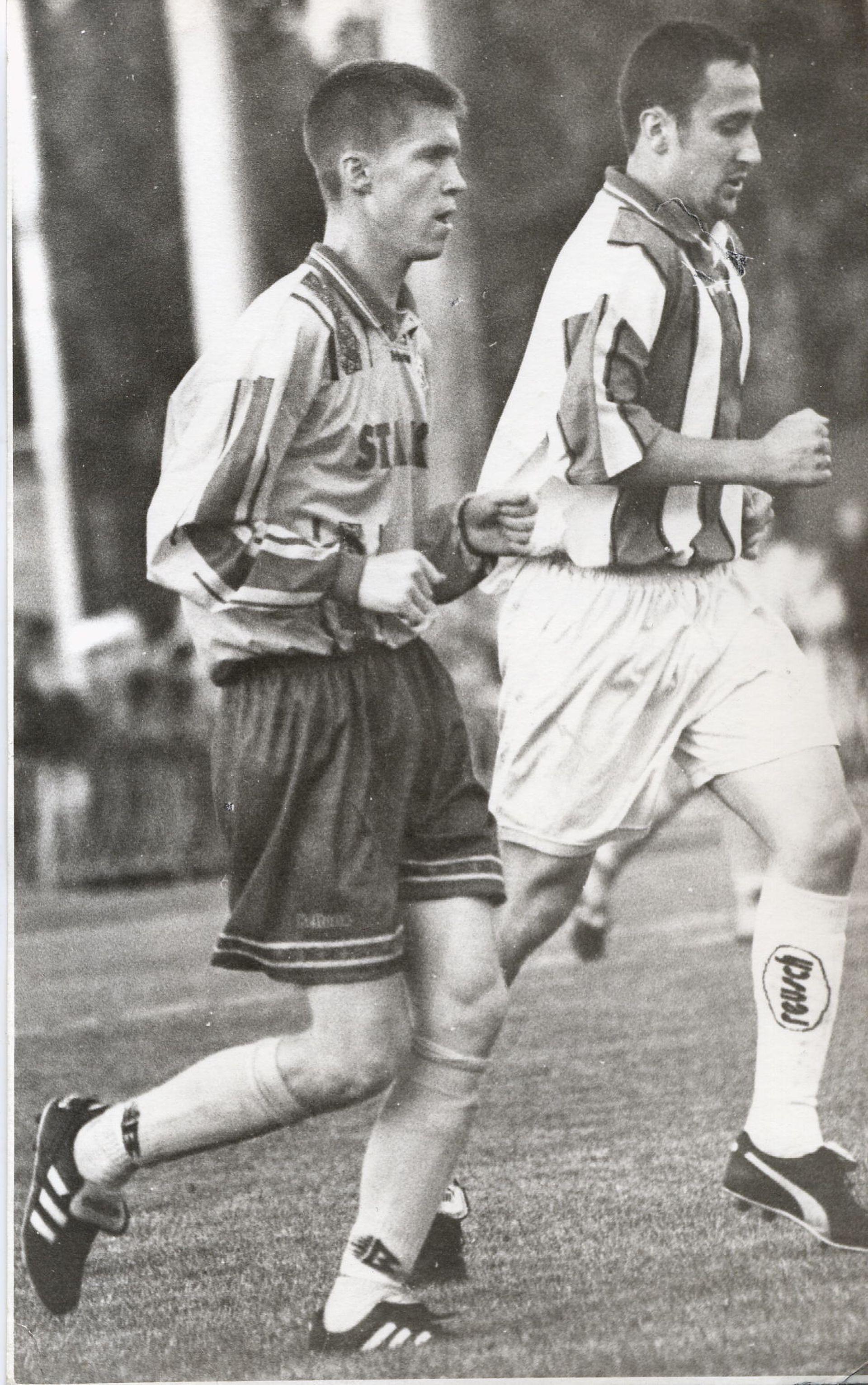 17-годишният Александър Хлеб е най-голямата звезда в беларуската футболна история. Тръгна за големия футбол в екипа на БАТЕ, а през годините още три пъти се връща в клуба