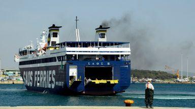 Фериботите в Гърция са необичайно празни