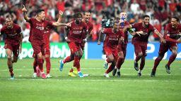 Ливърпул грабна Суперкупата на Европа след дузпи и шоу в Истанбул
