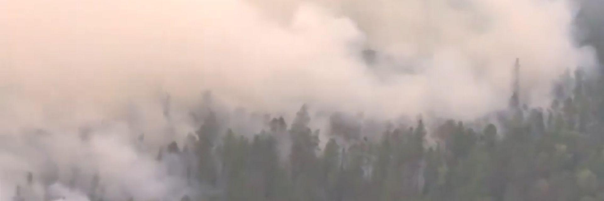 Димът от сибирските пожари вече покрива площ, по-голяма от Европа (видео)