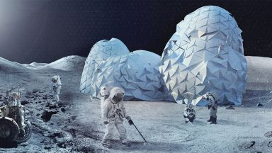 Базите на Луната може да се изградят с... урина