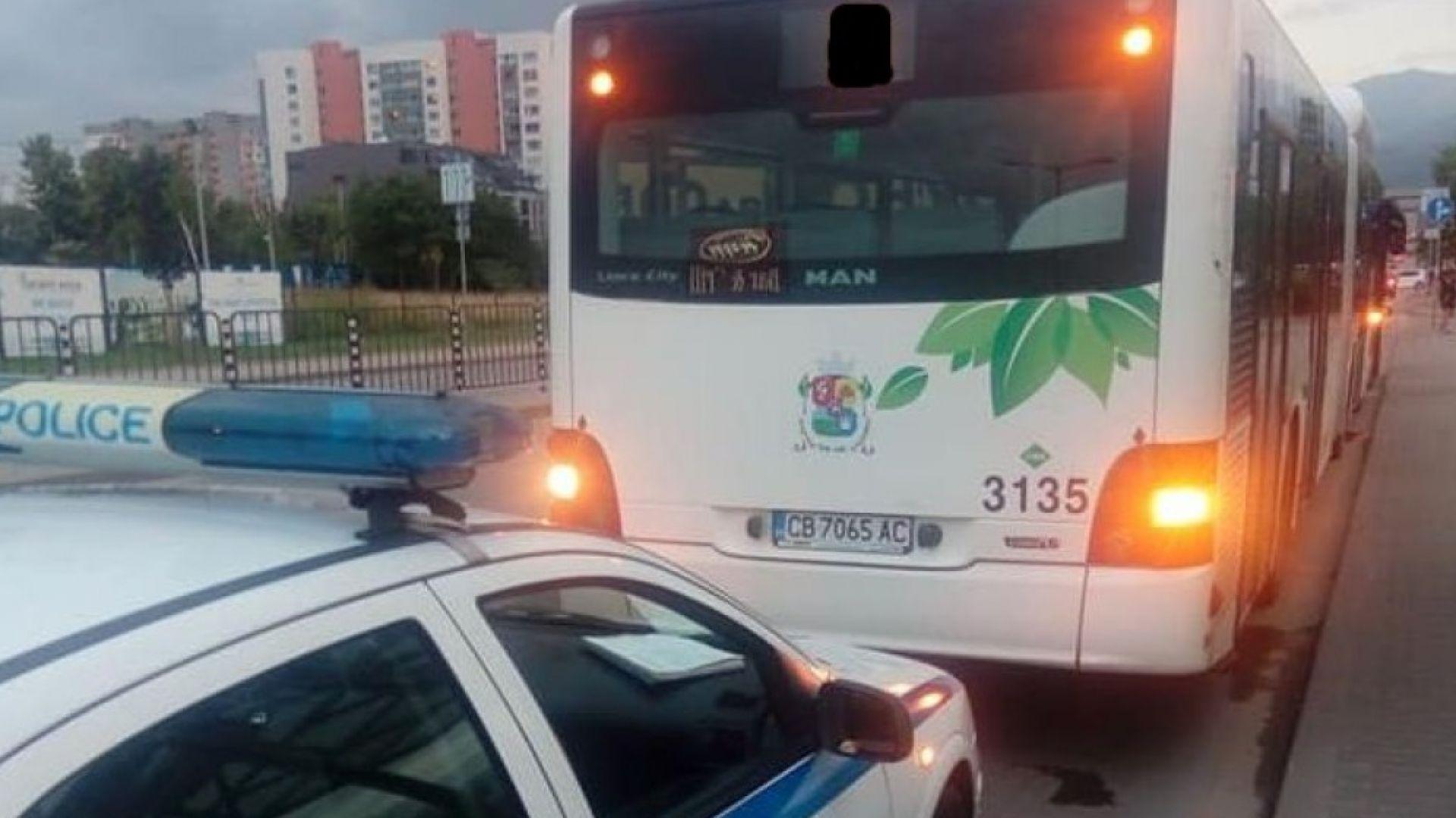 Нощни екшъни в градския транспорт в София, издирват бияч на шофьор