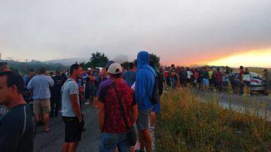 Полицията влезе в депото в Шишманци