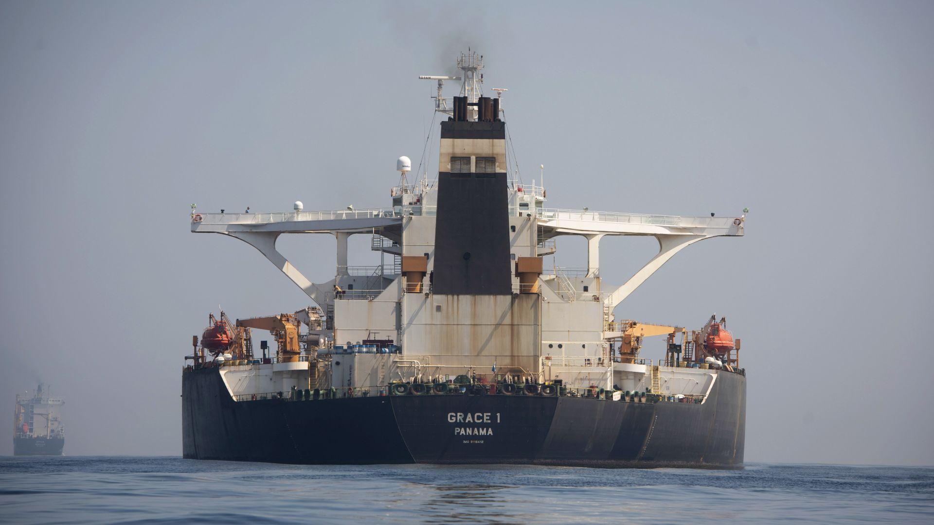 Гибралтар освободи супертанкер на Иран с 2,1 милиона барела суров петрол