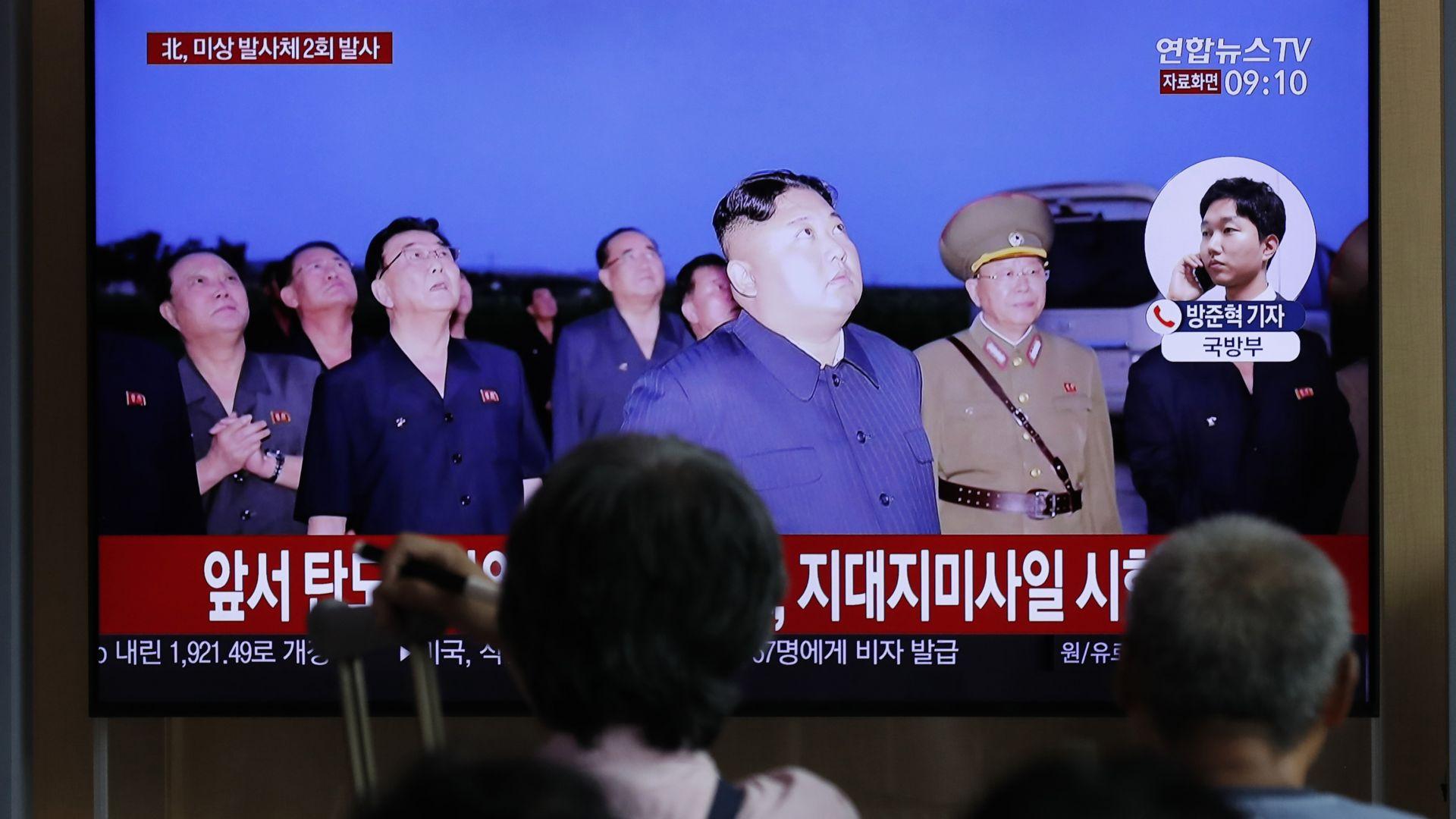 """Пхенян изстреля """"неидентифицирани снаряди"""", слага край на преговорите със Сеул"""