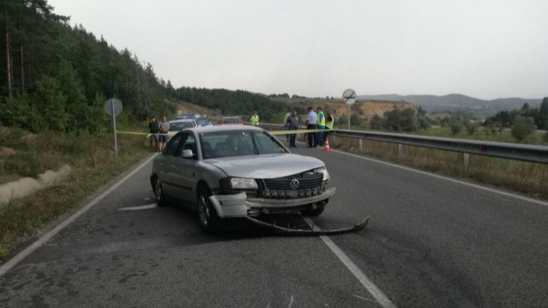 """Тежка катастрофа на пътя за """"Маказа"""", има загинал"""