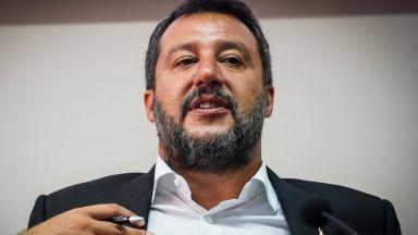 """Разследват Матео Салвини заради кризата с кораба с мигранти """"Оупън армс"""""""