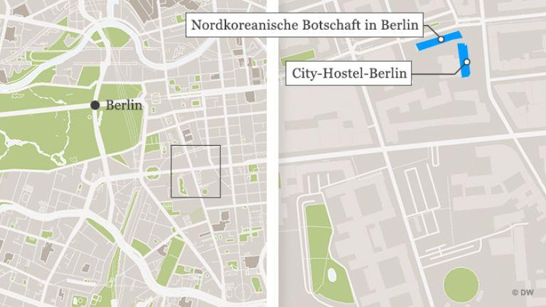 Един хотел в Берлин, една зала за сватби в София: как Северна Корея се подиграва на санкциите