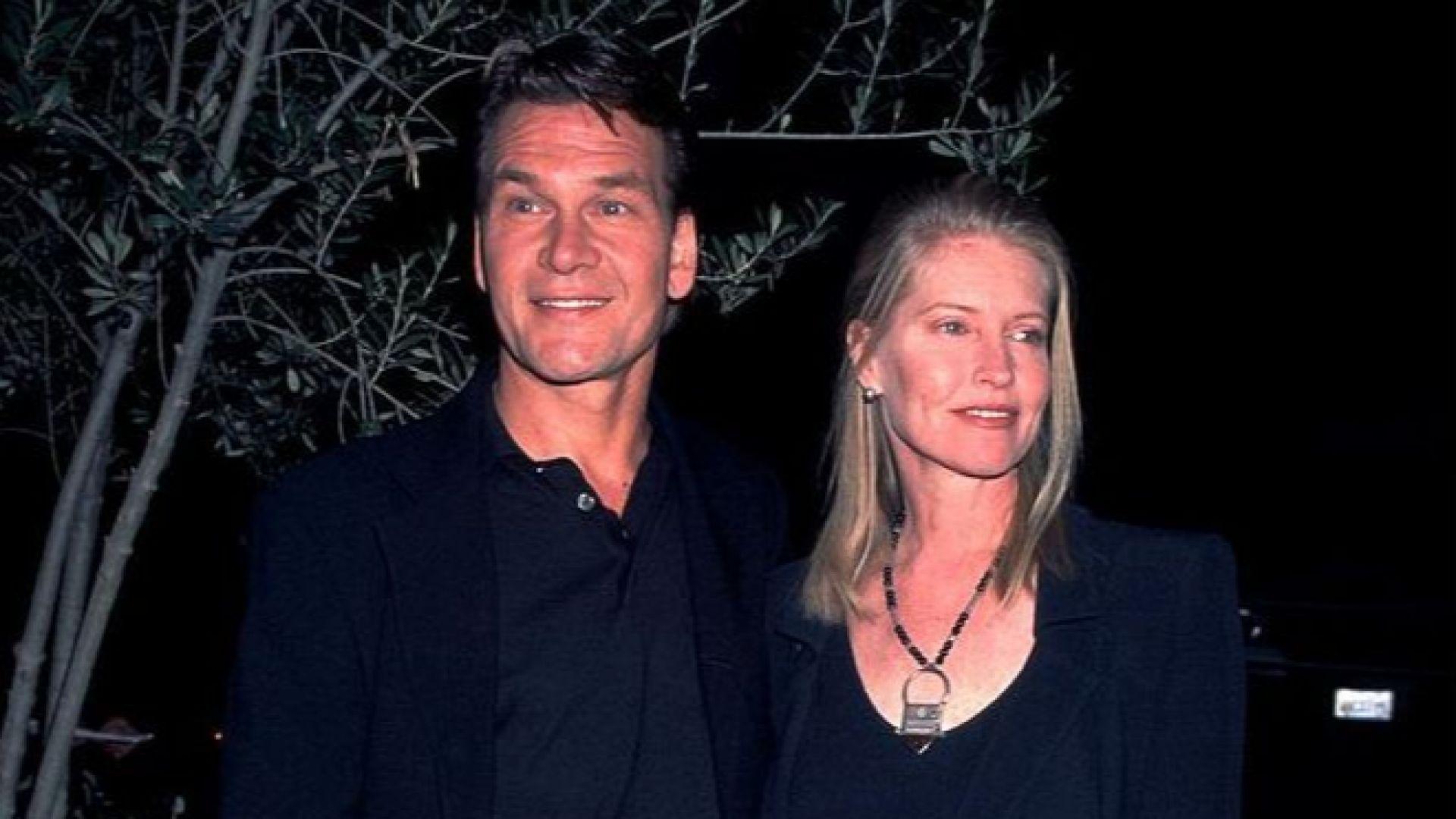 Патрик със съпругата си Лиса Нийми