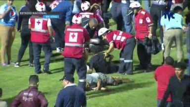 Три жертви и десетки ранени в ужас преди дербито на Хондурас