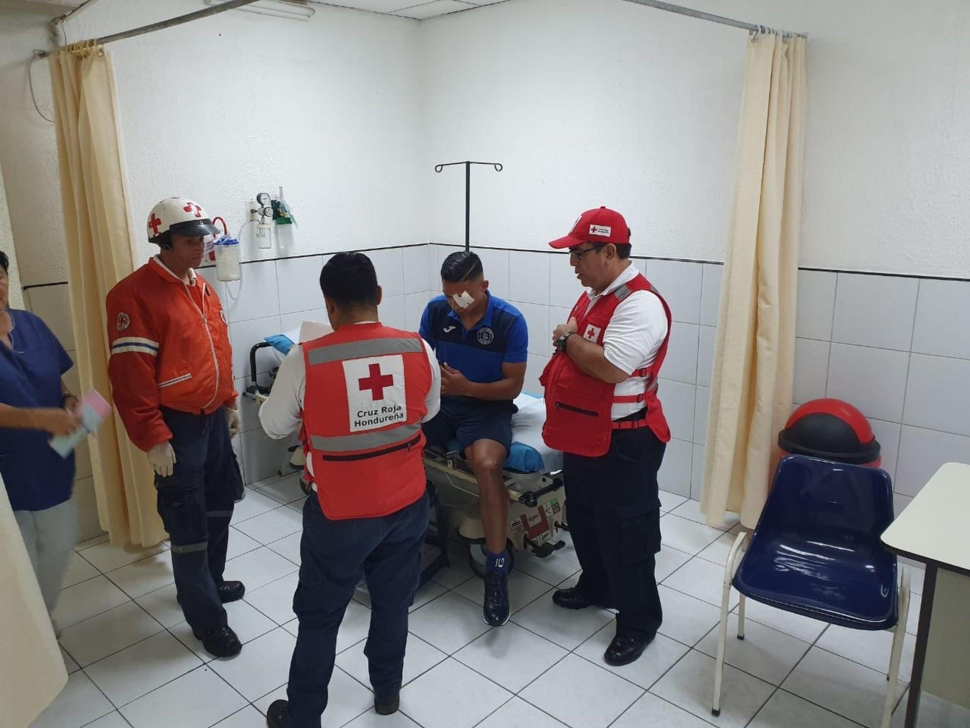 Емилио Езагире в болницата