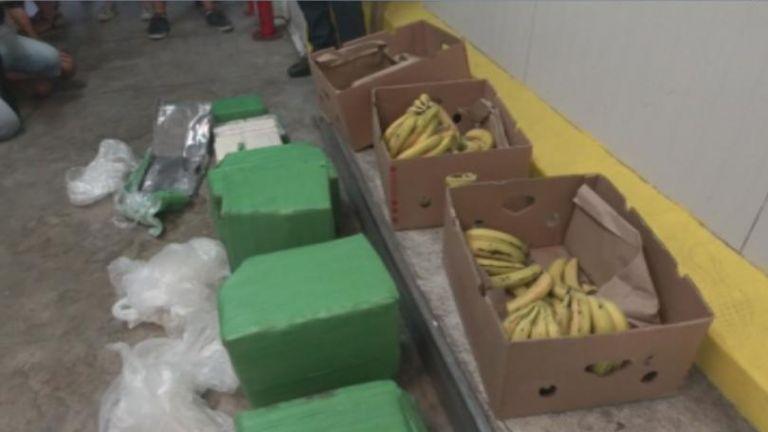 Обискират всички складове в страната на фирмата-получател на бананите с кокаин