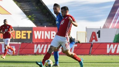 Ранен гол и късмет измъкнаха ЦСКА в Кърджали