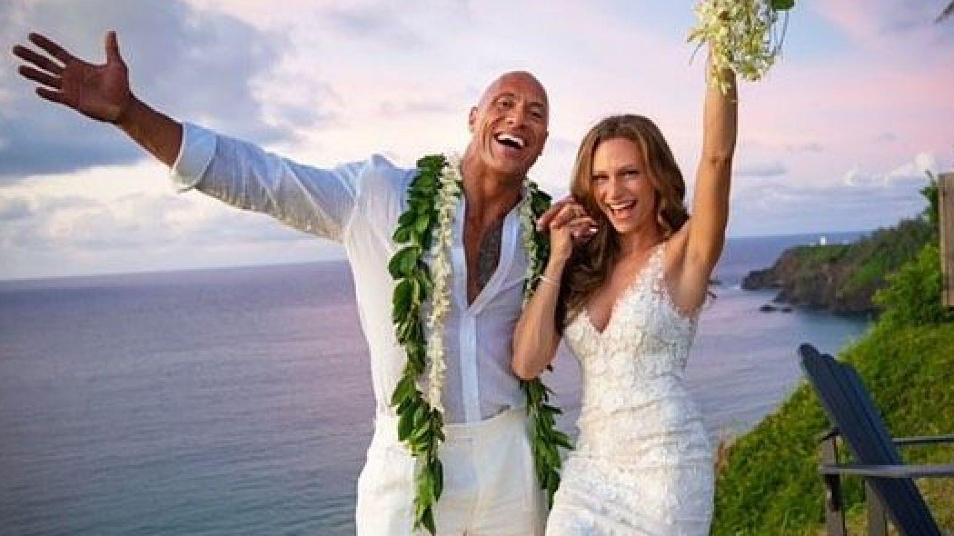 Скалата със сватба на Хаваите
