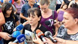Бдение в памет на убитата седемгодишна Кристин се състоя в Сливен