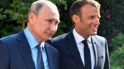 Путин каза на Макрон, че Русия не иска протести като тези във Франция