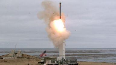 САЩ тестваха крилата ракета със среден обсег