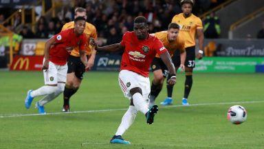 Погба изпусна дузпа и Юнайтед загуби първи точки