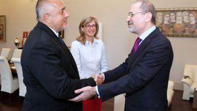 Борисов и Айман Ал-Сафади обсъдиха по-близки контакти между бизнеса на България и Йордания