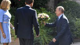 """""""Обяснение в любов"""" от Макрон към Путин преди срещата Г7 в Биариц"""