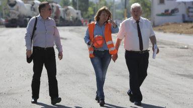 Фандъкова предлага еднократна помощ за пострадалите от пожара в Бухово
