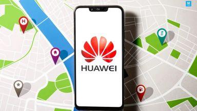 Huawei вади конкурент на Google Maps