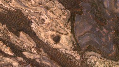 Водата на Марс се е изпарила преди 3,5 милиарда години