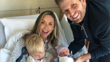 Ерик Тръмп стана баща за втори път