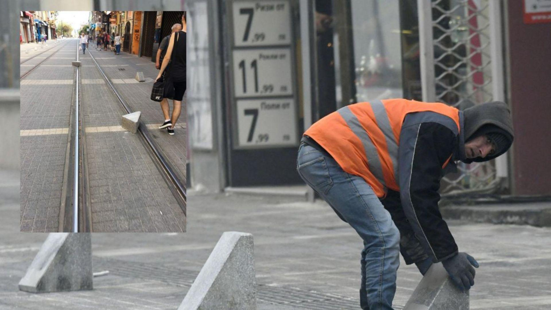 """След поредния инцидент - Столична община най-после подменя """"перките"""" на """"Граф Игнатиев"""""""