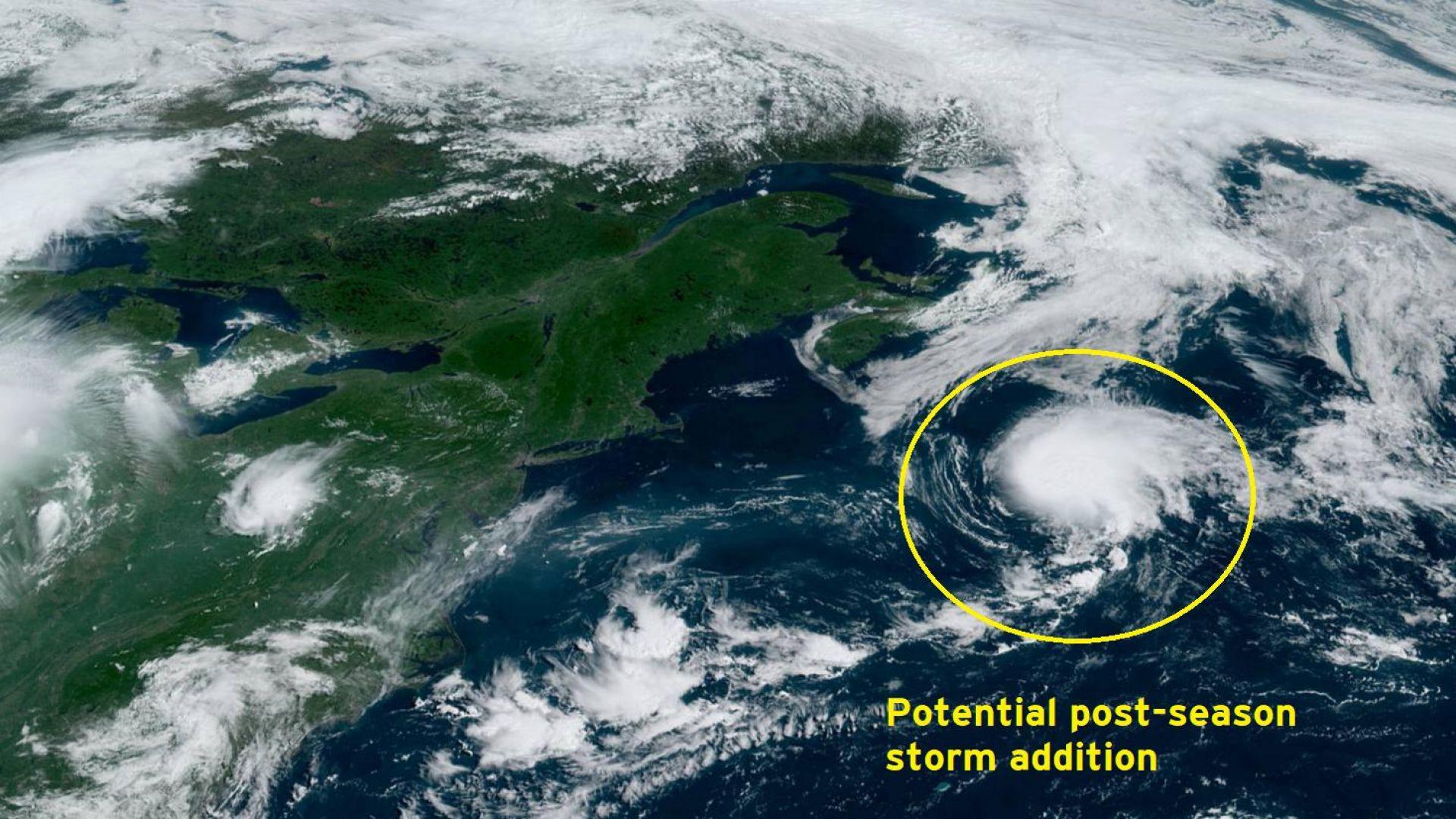 Тропическата буря Шантал се образува на необичайно място в Атлантика