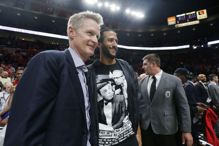 С треньора на Голдън Стейт в НБА - Стив Кър