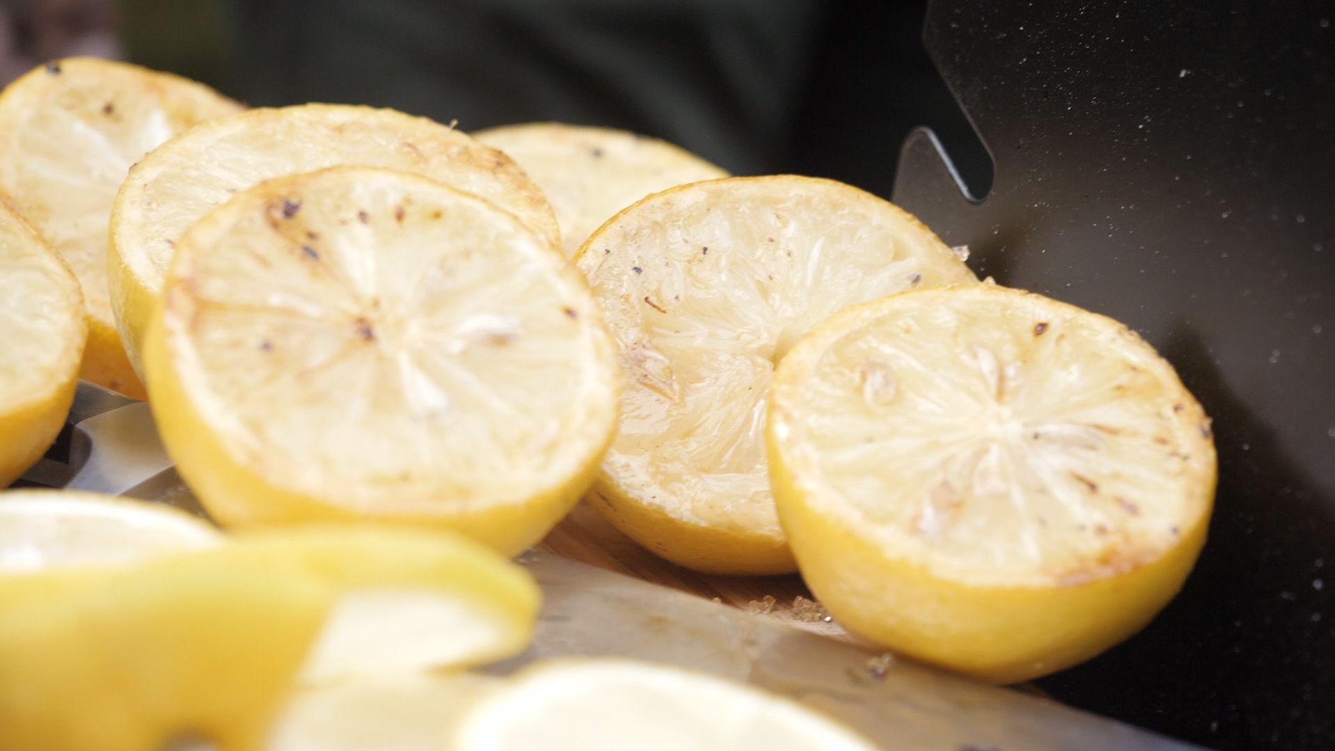 """Лимони """"на грил"""""""