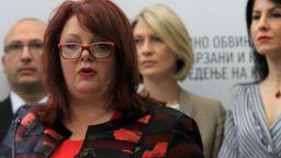 Полицията в Северна Македония задържа днес ръководителката на Специалната прокуратура Катица Янева