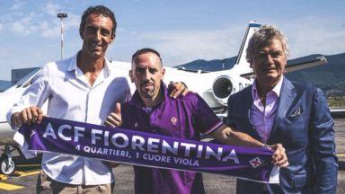 Ветеранът Рибери пое към Флоренция