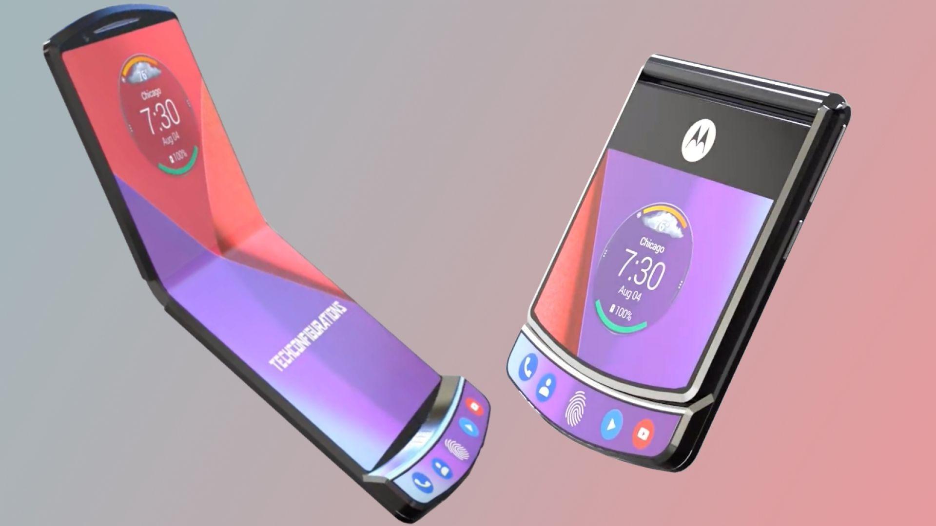 Сгъваемият Motorola RAZR идва до края на годината