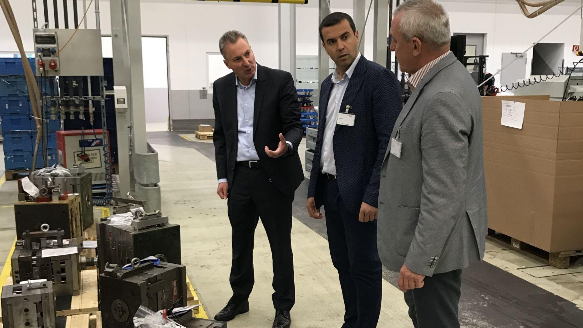 Нов завод за авточасти у нас обсъждат България и Германия