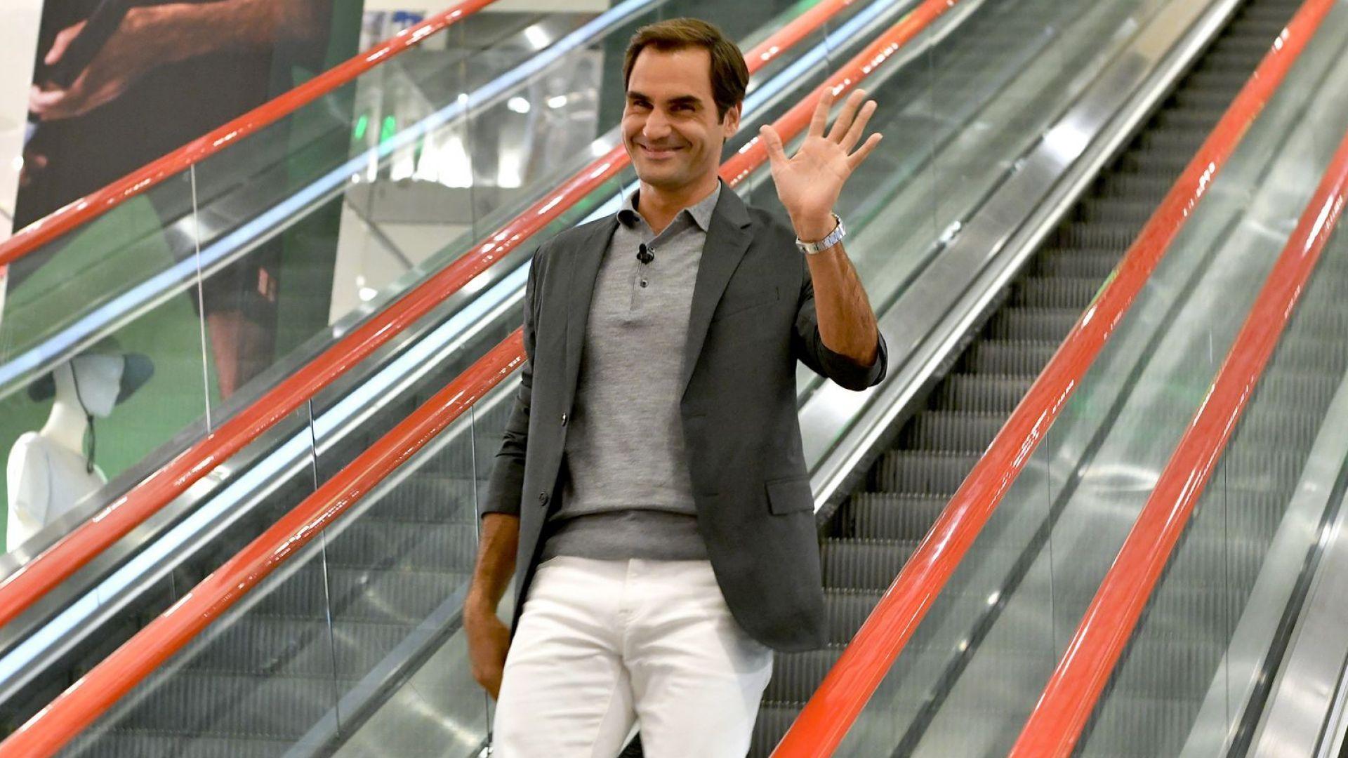 Федерер: Децата ми харесват музика и рисуване, няма да им давам уроци по тенис