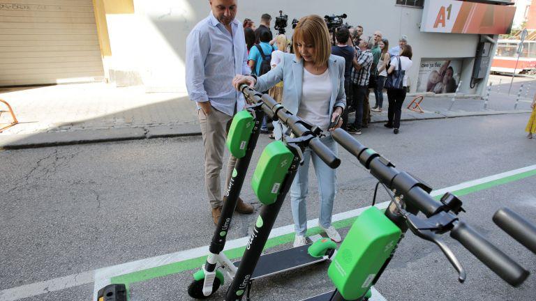 Електрически тротинетки под наем от днес в София