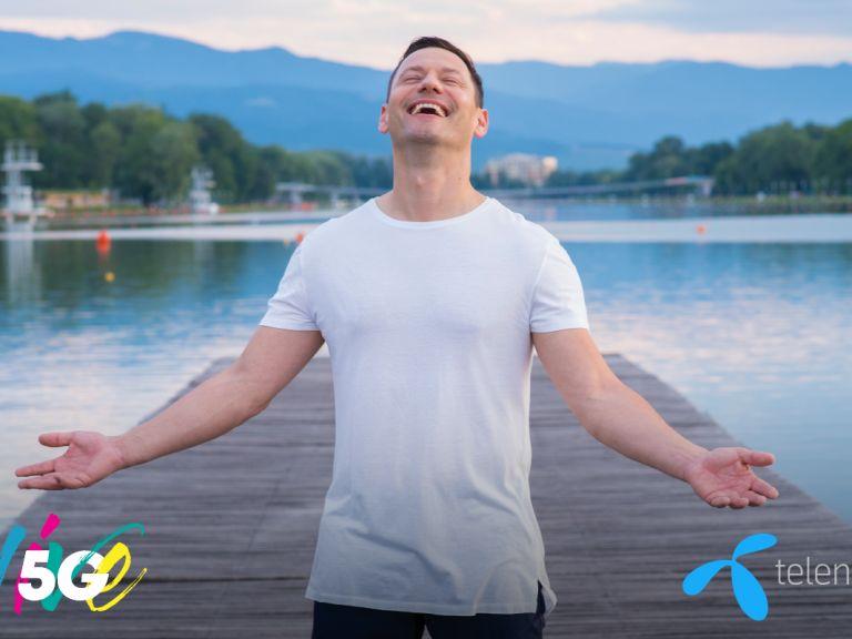 Теленор ще излъчи 360-градусово видео от сцената на концерта на Орлин Павлов при третия си 5G тест в София
