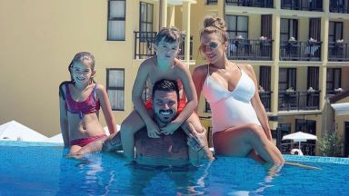 Семейна идилия – Златка и Благой във Велинград с децата му