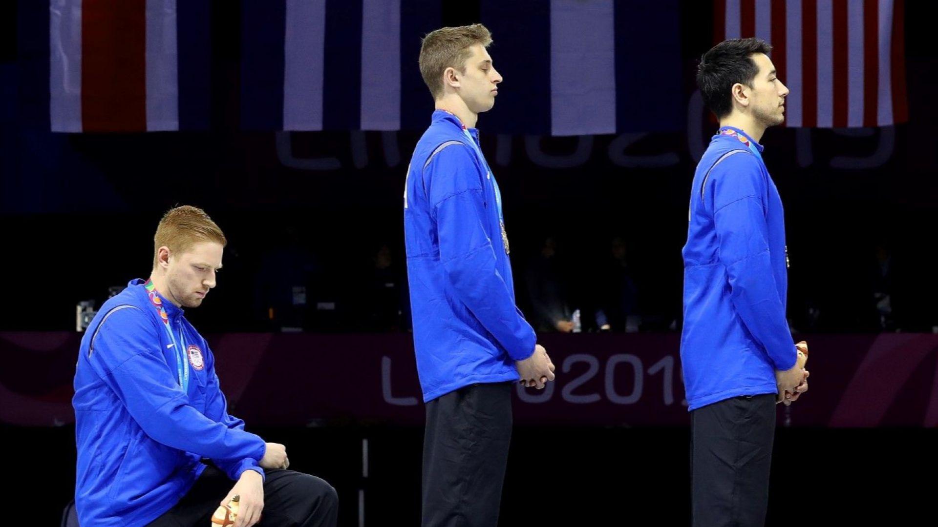 САЩ  посъветва атлетите си - без протести на Олимпиадата