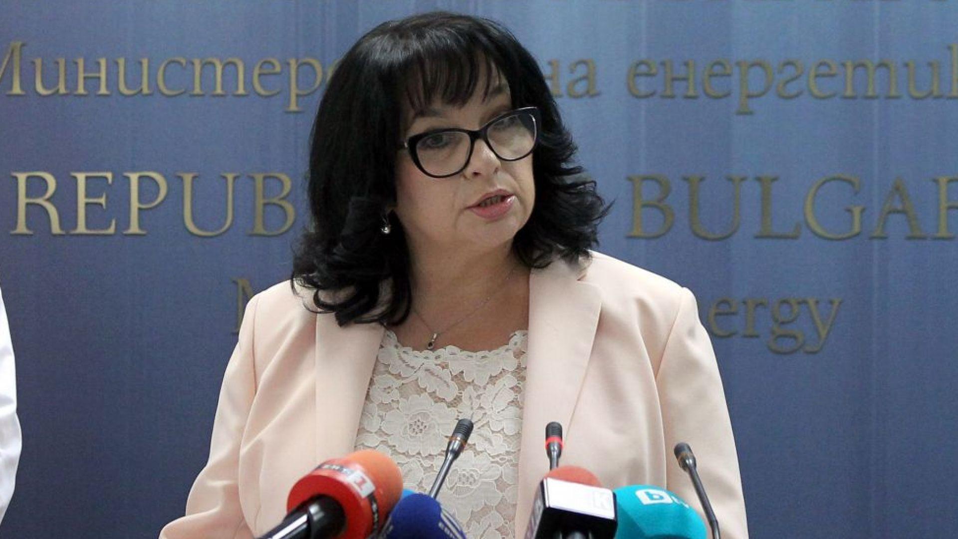 """Теменужка Петкова: """"Булгартрансгаз"""" е платила аванс от 250 млн. лв. за """"Балкански поток"""""""