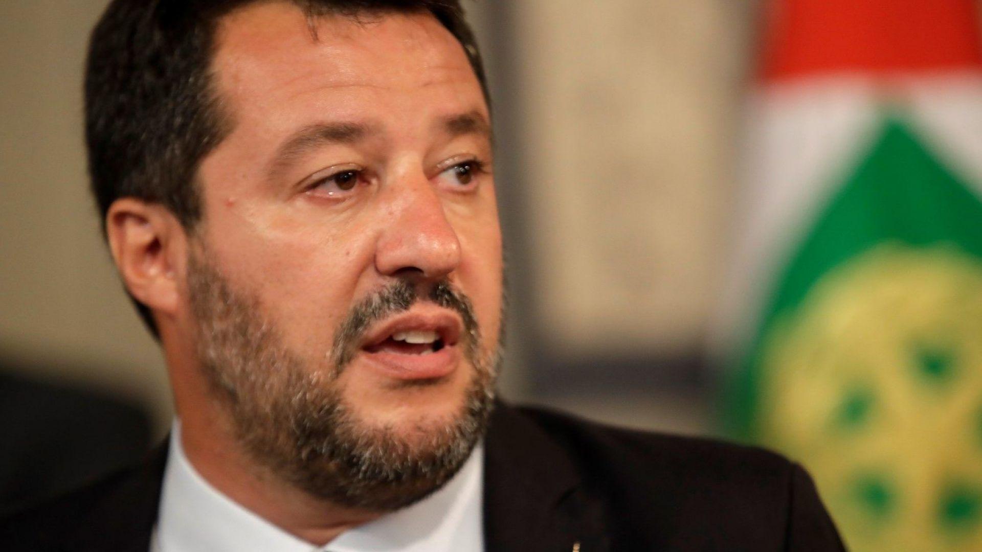 """Матео Салвини намекна за възобновяване на коалицията с Движението """"Пет звезди"""""""