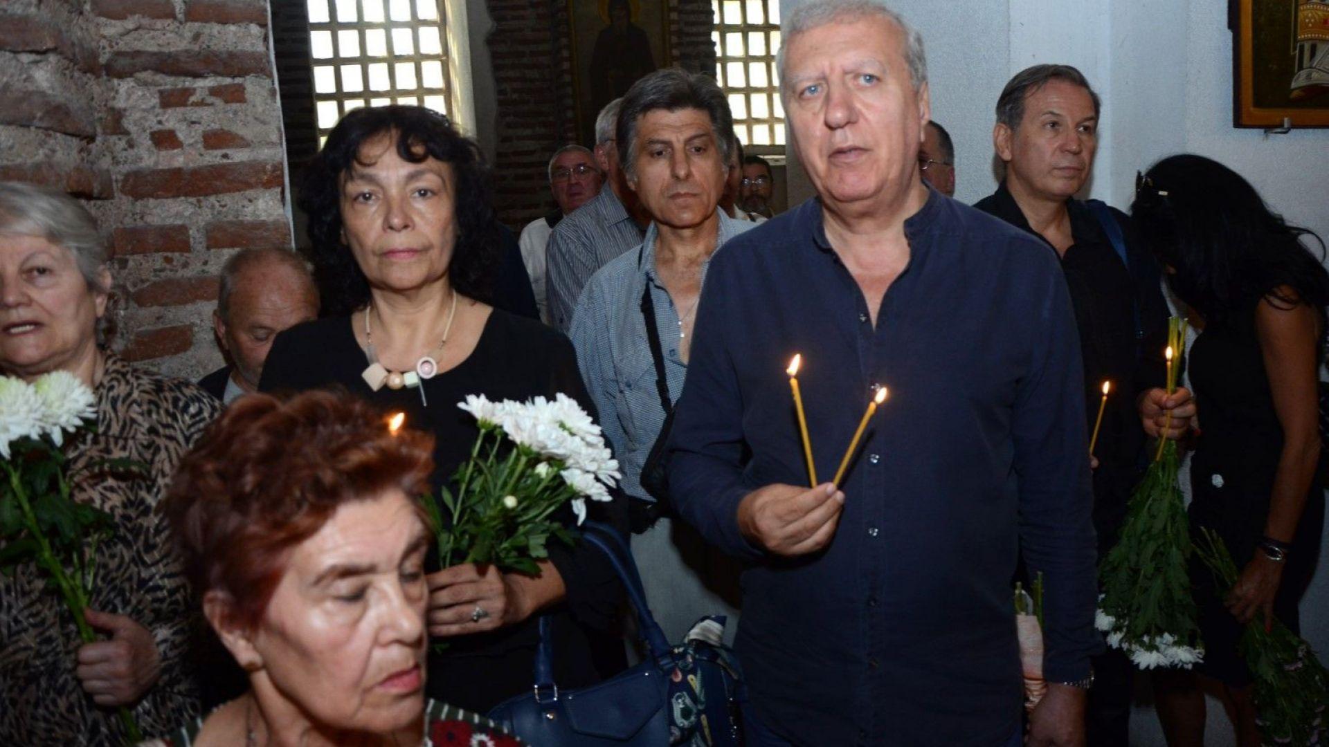 На поклонението бе и Александър Томов
