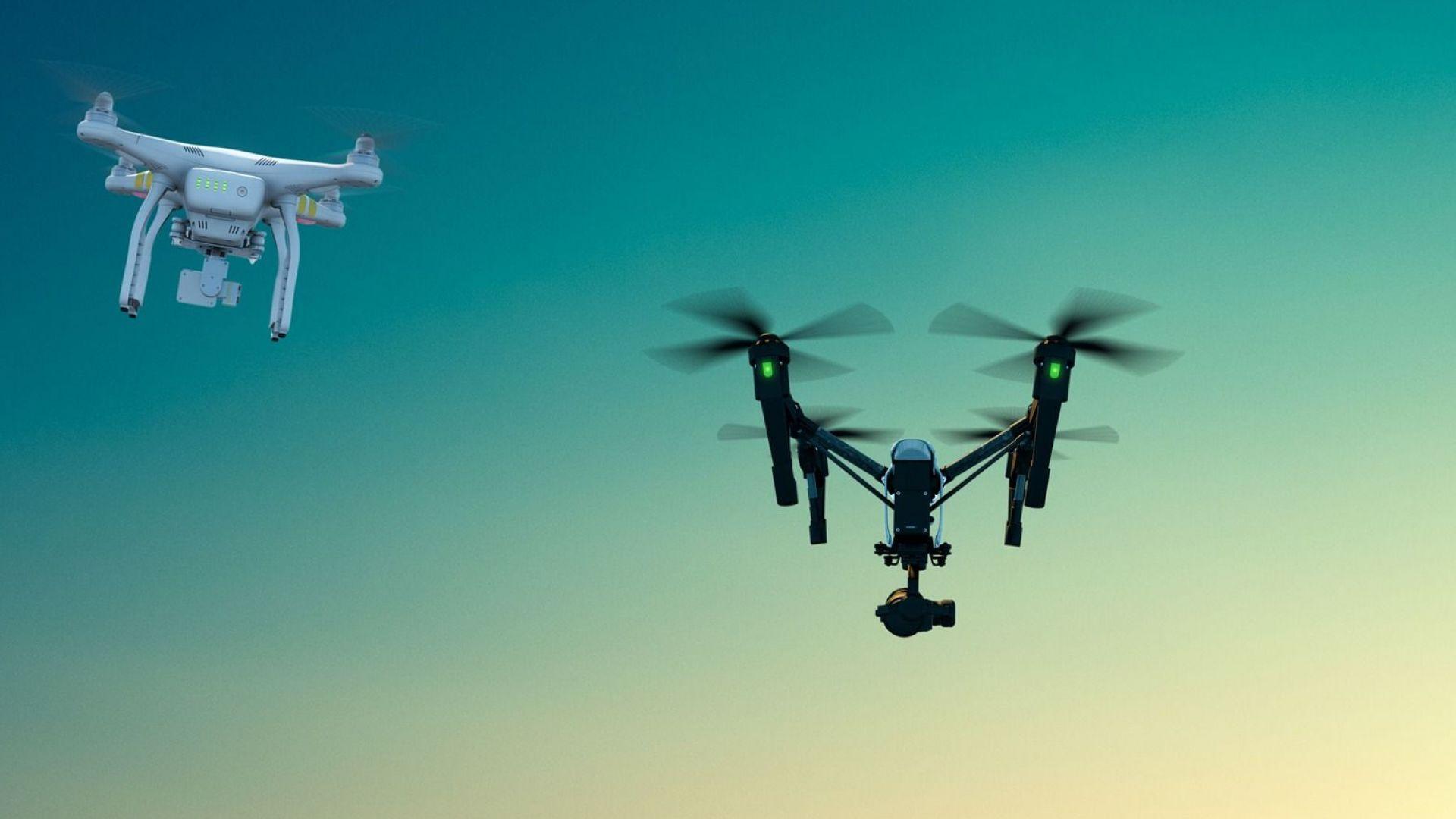 Walmart патентова блокчейн система за дронове