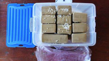 Задържаха мъж в София с 40 кила кокаин в колата
