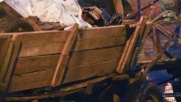 Подплашен кон с каруца изскочи на пътя и се удари в бус, мъж е със счупен череп
