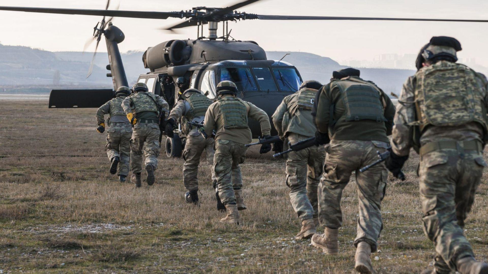 """Турция стартира антитерористична операция """"Клещи-3"""""""