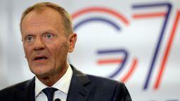 Доналд Туск: Срещата на Г-7 ще е тежко изпитание за единството на групата